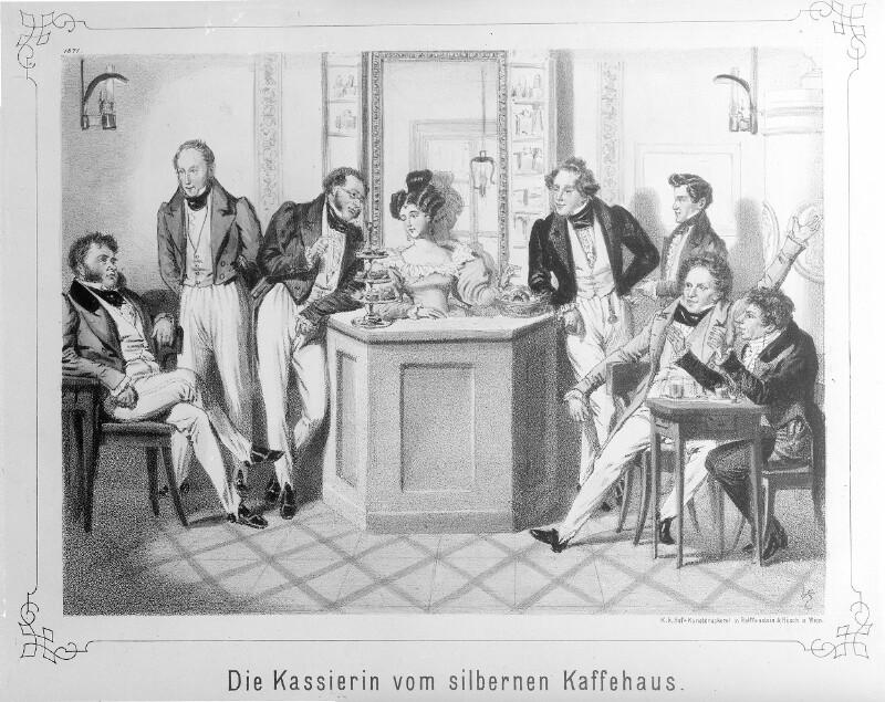 """""""Die Kassierin vom silbernen Kaffehaus"""""""