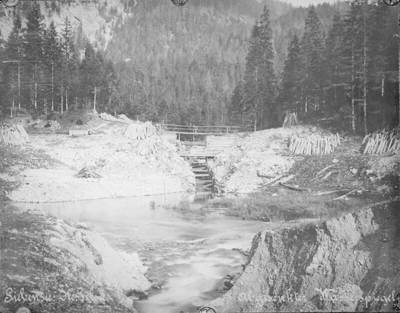 Bau der II. Wiener Hochquellenleitung