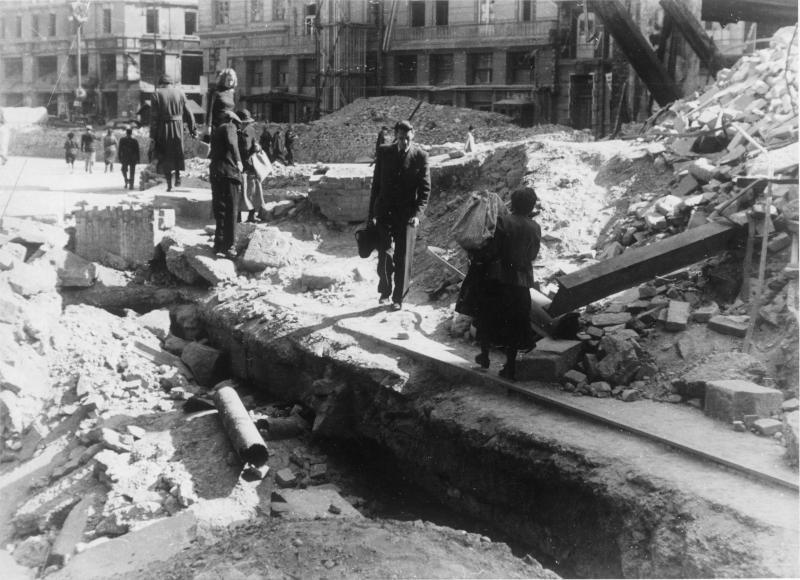 Kriegsschäden in Wien