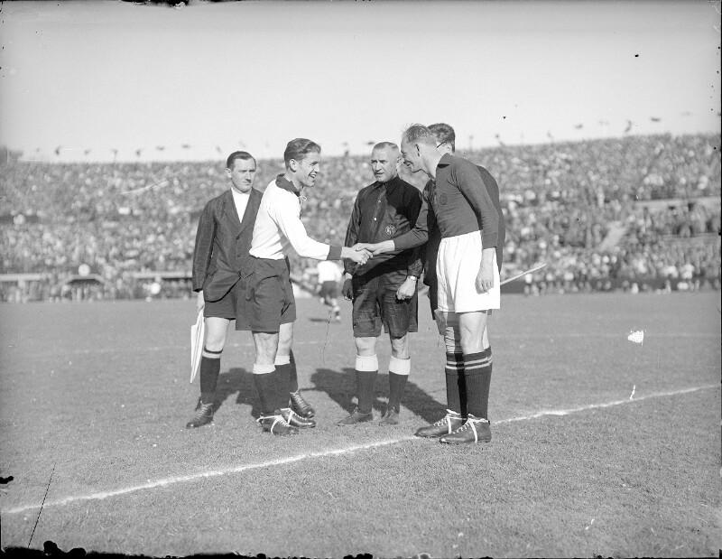 Fußball Österreich - Deutsches Reich