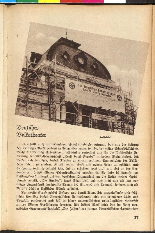 Wien, 7, Volkstheater