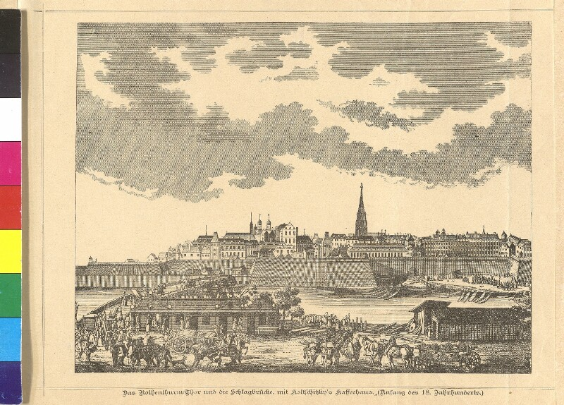 'Prospect der Stadt Wien vor dem Rothen Thurm'
