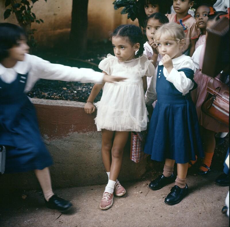 Mädchen in Festtagskleidung, Nicaragua