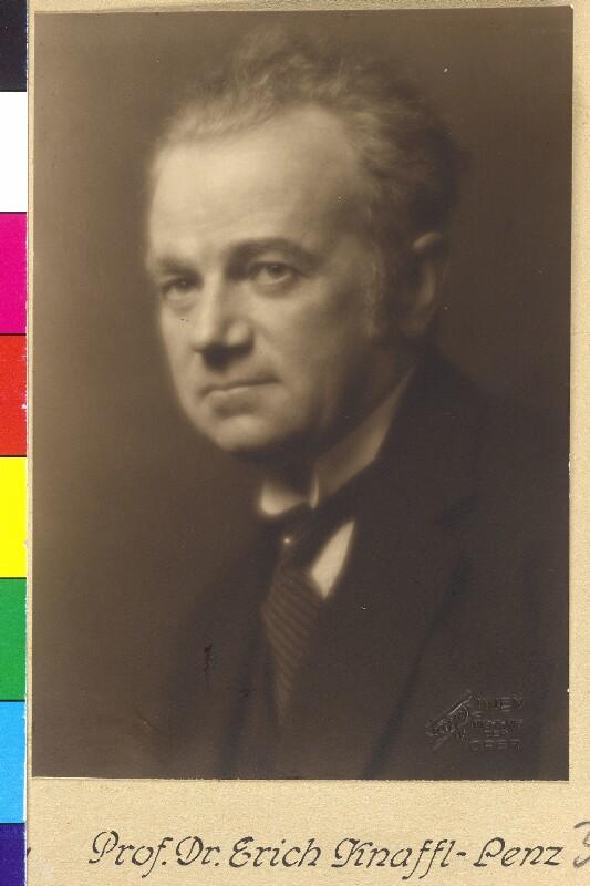 Knaffl-Lenz-Fohnsdorff, Erich Ritter von