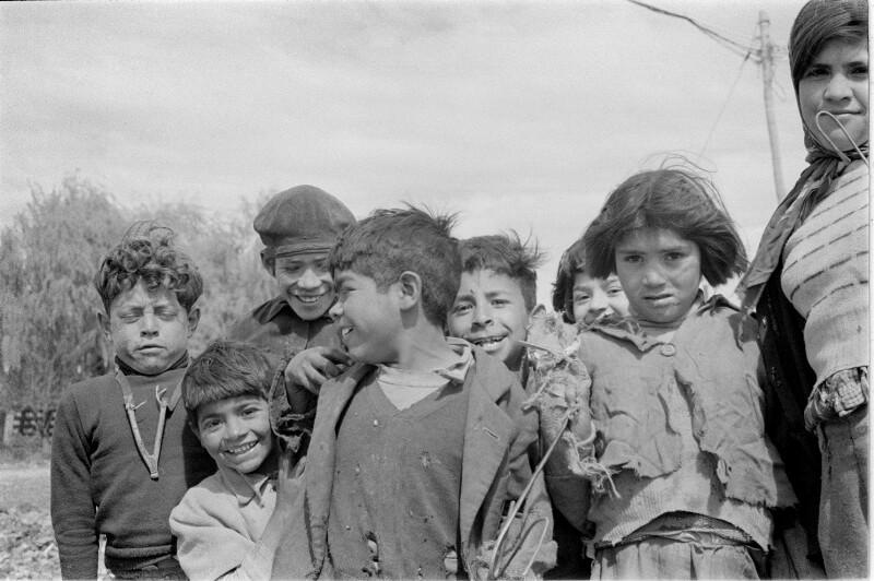 Kinder auf der Müllhalde von Buenos Aires, Argentinien