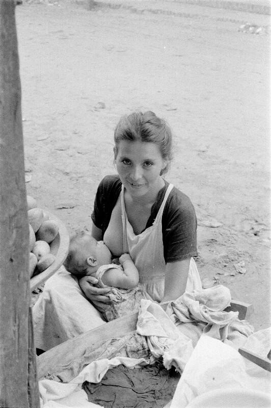 Stillende Mutter, Bolivien