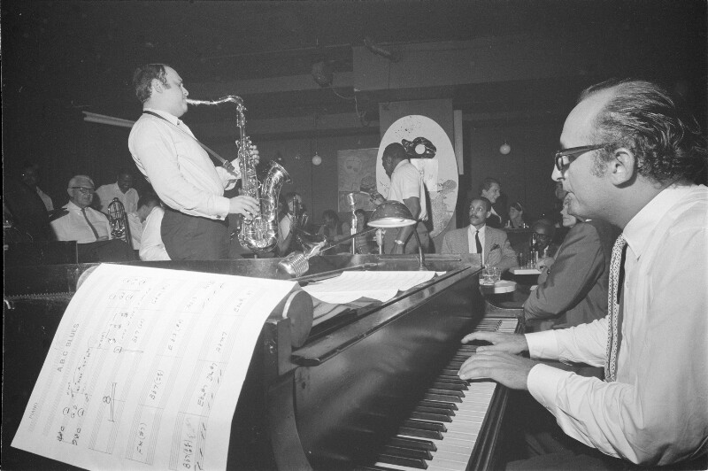 Friedrich Gulda bei einem Auftritt