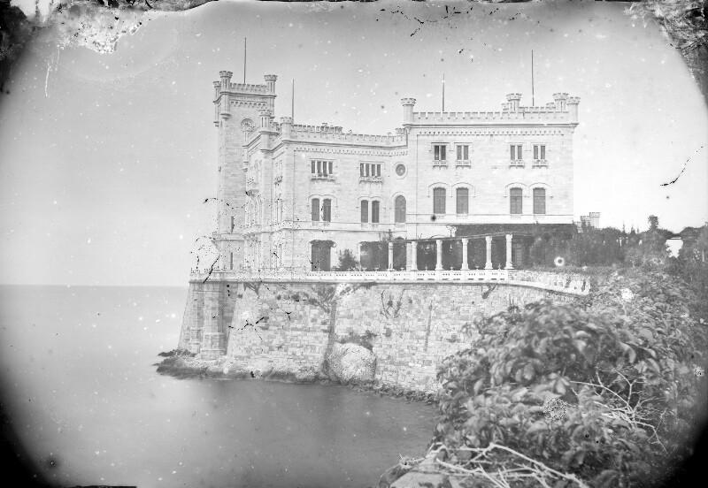 Südseite Schloss Miramar