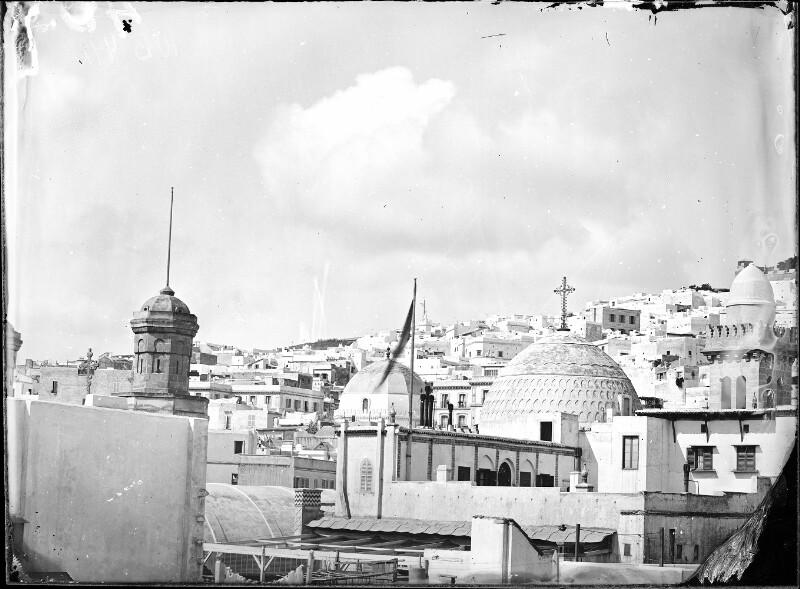 Dachlandschaft in Algier