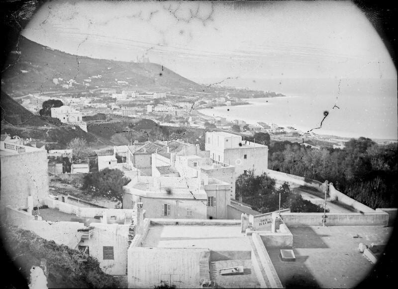 Blick von Algier auf das Meer