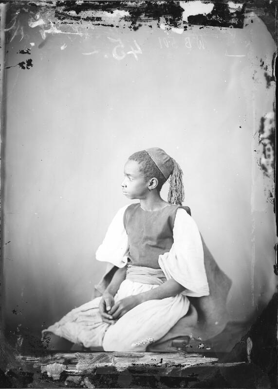 Junger Schwarzafrikaner