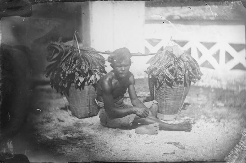 Obstverkäufer auf Java