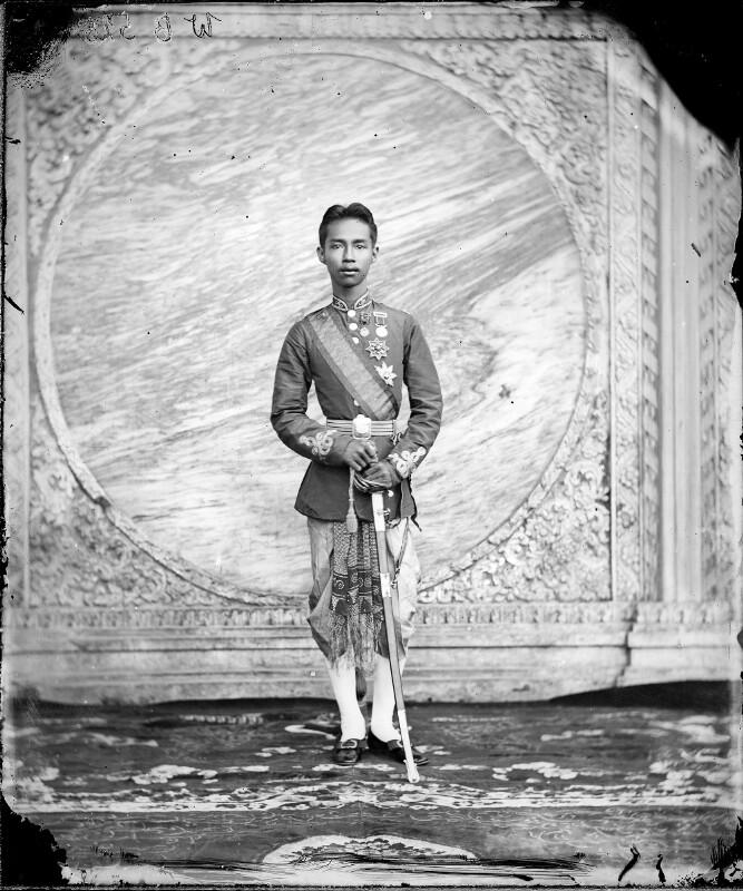 Bildnis Rama V., König von Siam