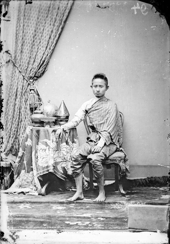 Bildnis eines königlichen Prinzen in Siam