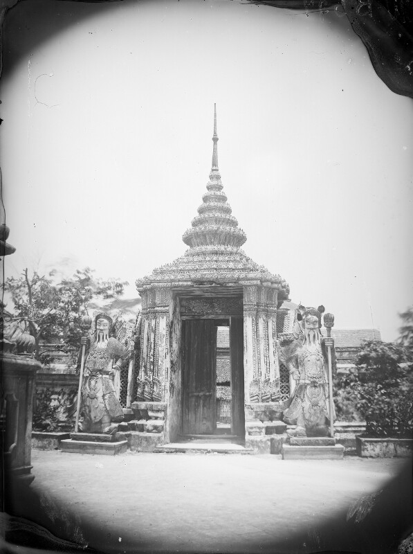 Eingang zur Pagode What-Poh, Siam.
