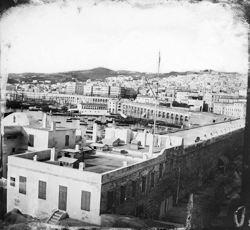 Blick über Algier