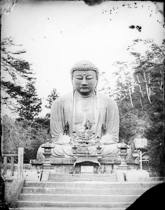 Bronze-Statue des Buddha in Kamakura