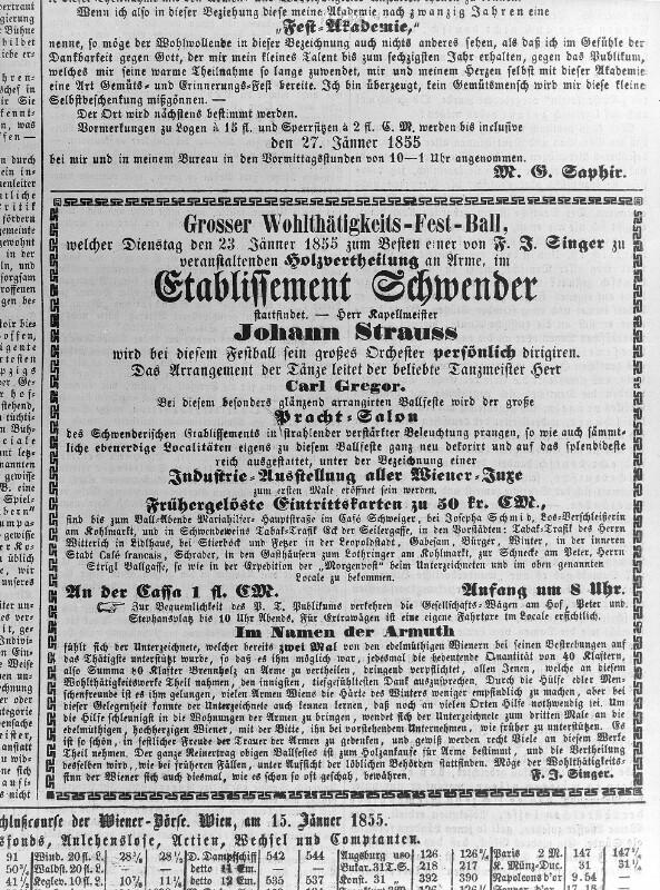 """""""Grosser Wohlthätigkeits-Fest-Ball"""""""