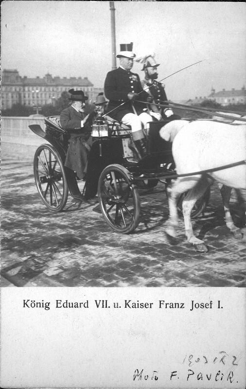Staatsbesuch von König Edward VII.