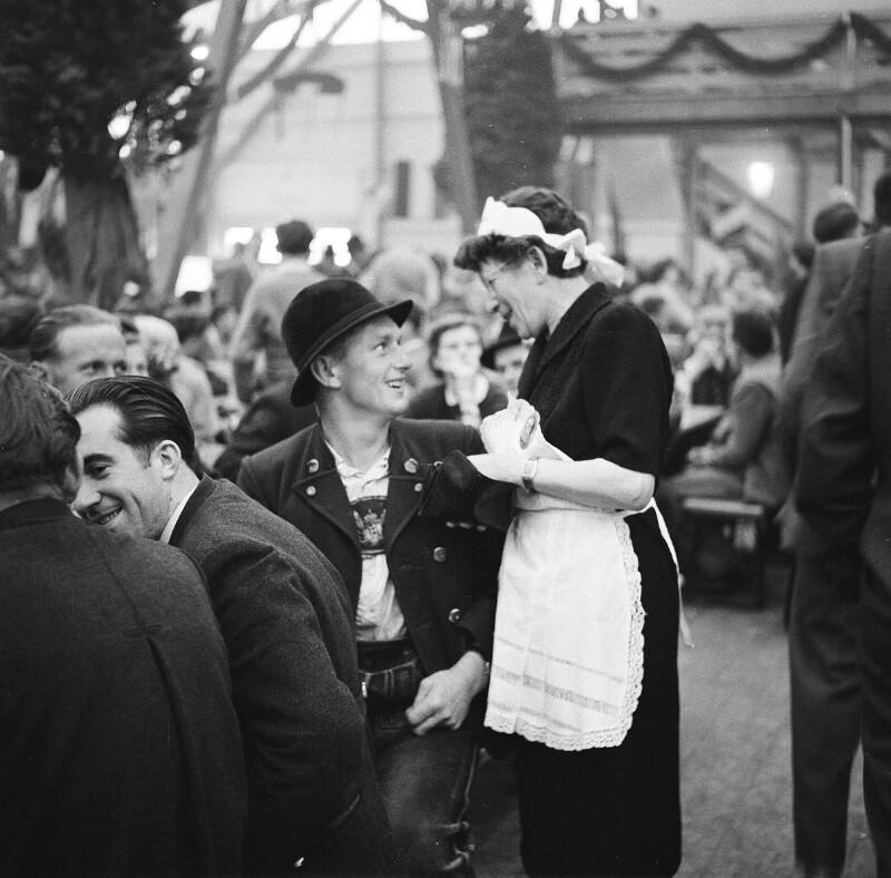 Photograph from Oktoberfest, Munich
