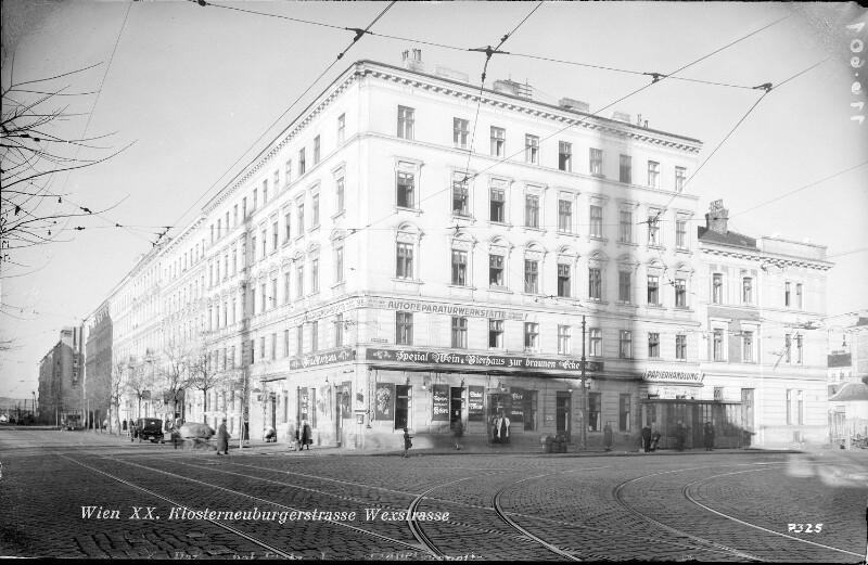 Wien 20, Klosterneuburgerstraße 98