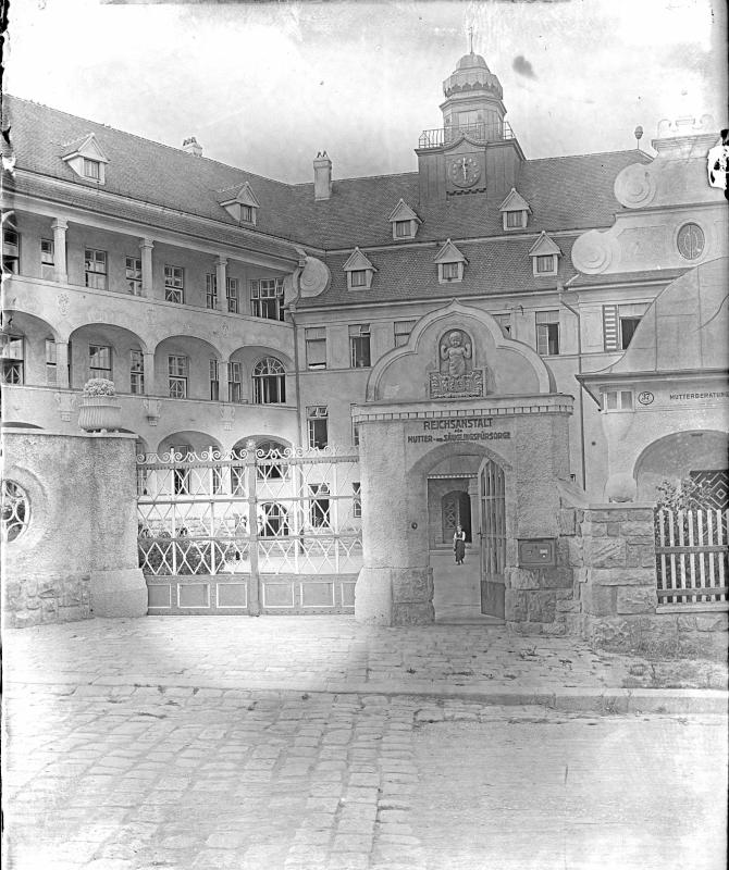 Wien 19, Kinderklinik Glanzing