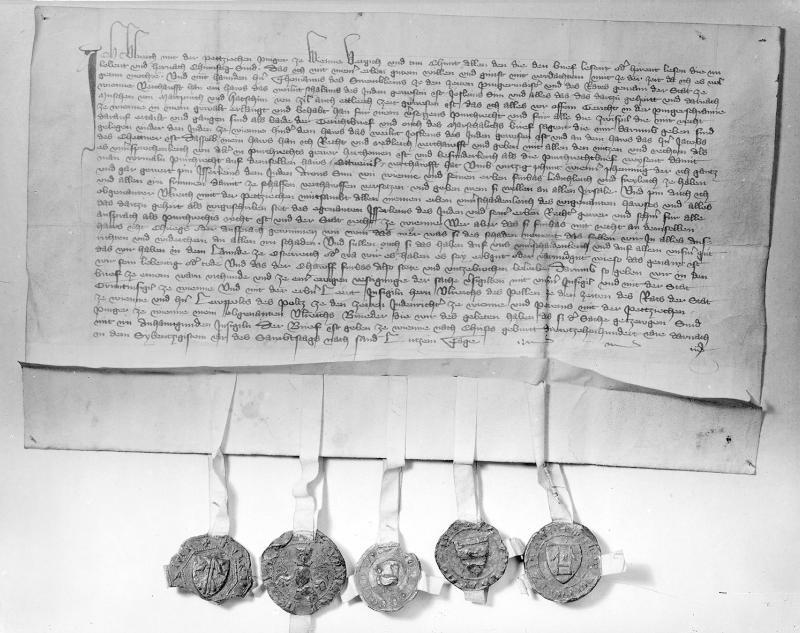 Wiener Urkunde von 1370