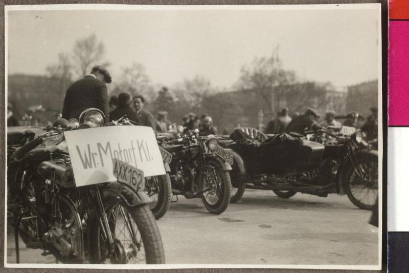 Auffahrt des Österreichischen Motorfahrerverbandes (Ö.M.V.)