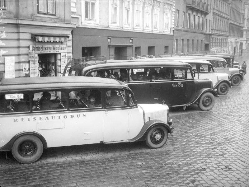Autobusse für Überlandfahrten