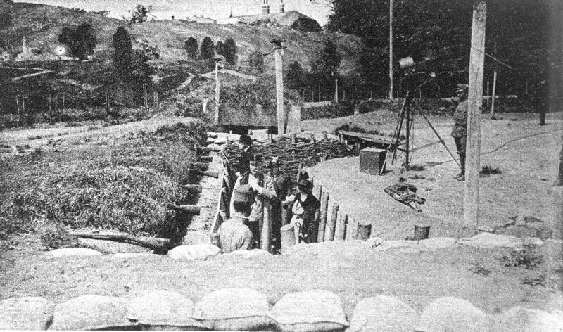 Wien 2, Wiedereröffnung der Schützengrabenanlage im Prater