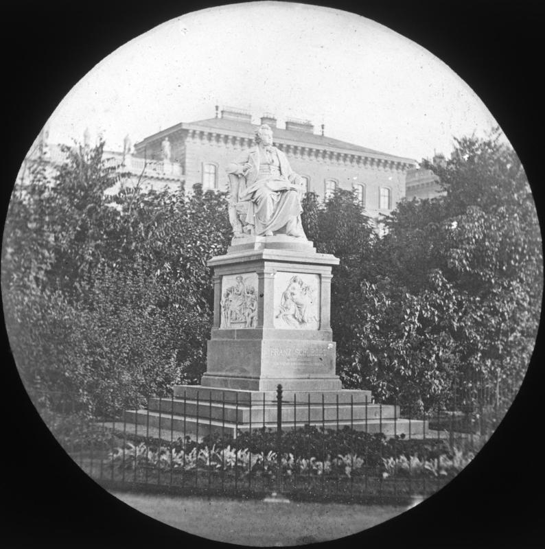 Wien 1,  Denkmal für Franz Schubert