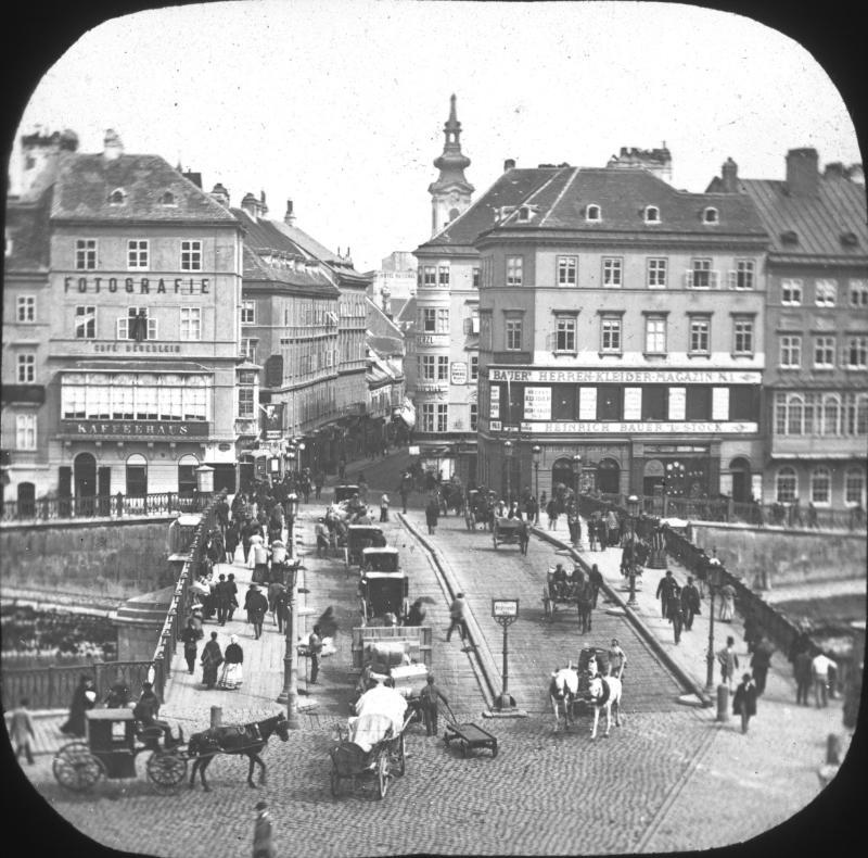 Wien 1, Ferdinandsbrücke.