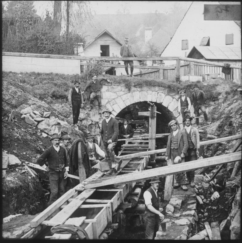 Sankt Veit an der Glan: Bauarbeiter.