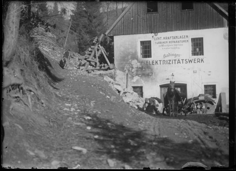 Sankt Veit an der Glan: Elektrizitätswerk Radinger.