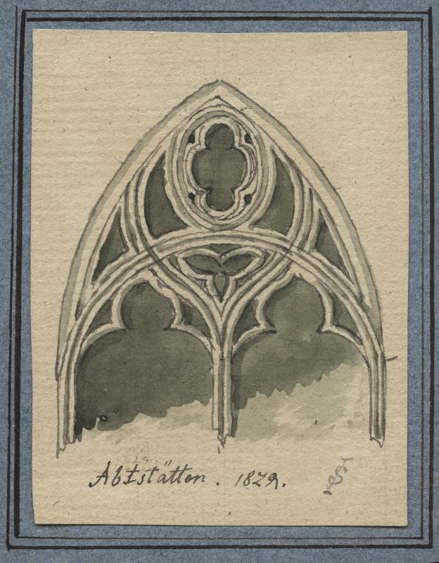Abstetten - gotisches Fenster