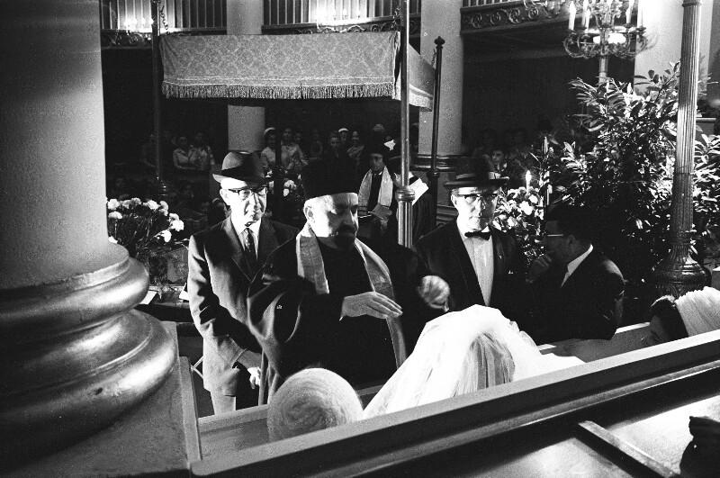 Jüdische Hochzeit in Hamburg