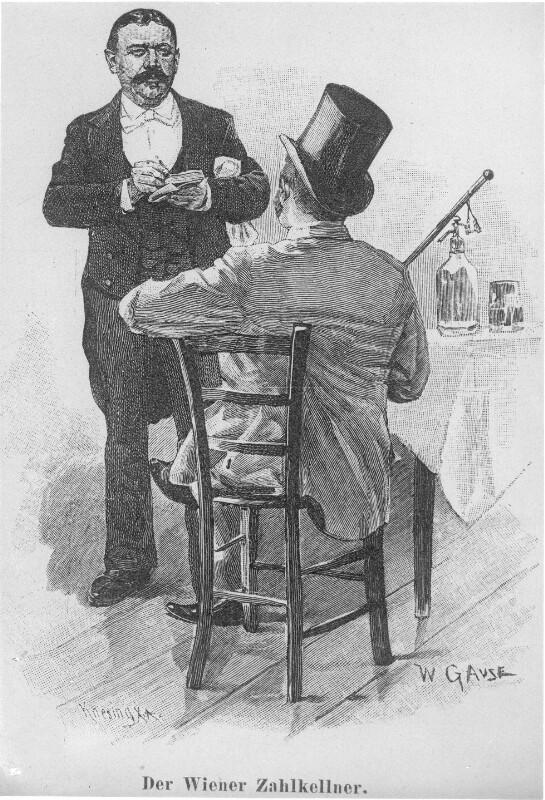 'Der Wiener Zahlkellner'