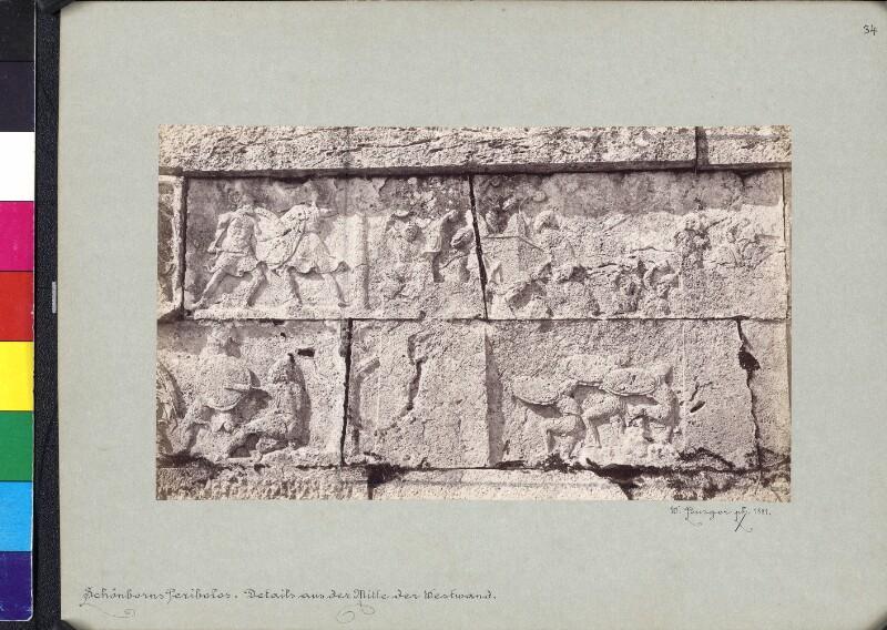Friesdetail des Heroons von Trysa