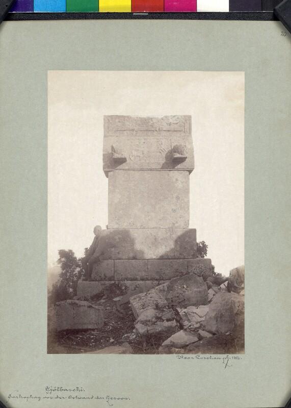 Dereimis- und Aischylos-Sarkophag von Trysa