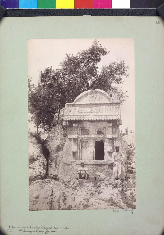 Felsengrab in Hoiran