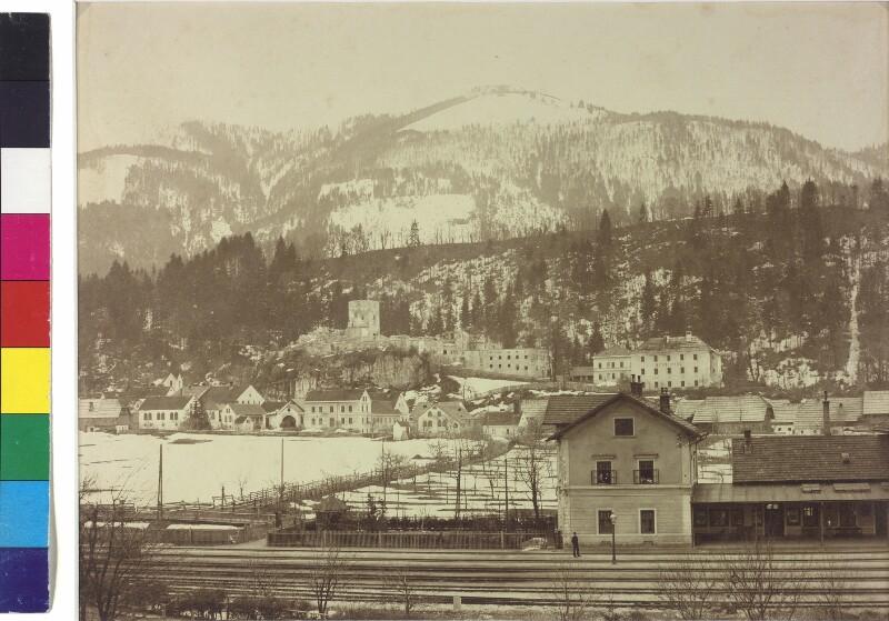 Bahnhof in Arnoldstein im Gailtal