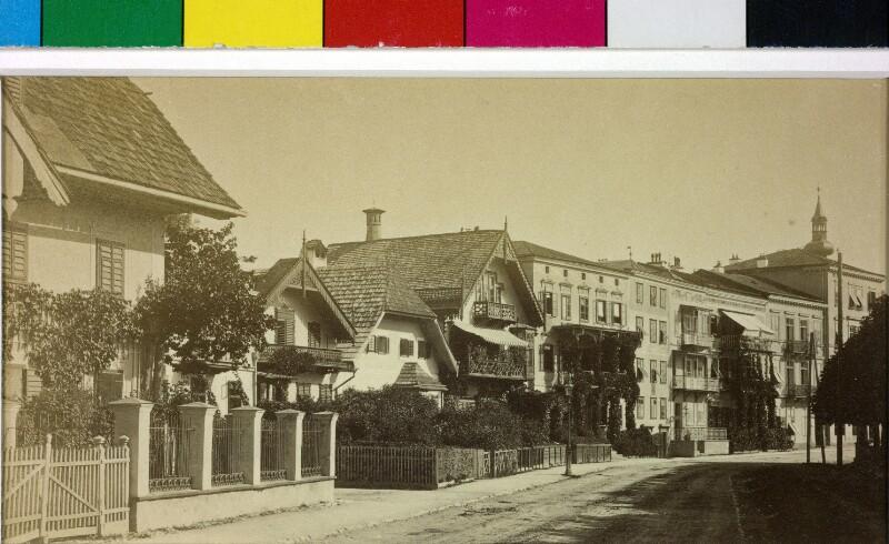 Häuserzeile in Gmunden