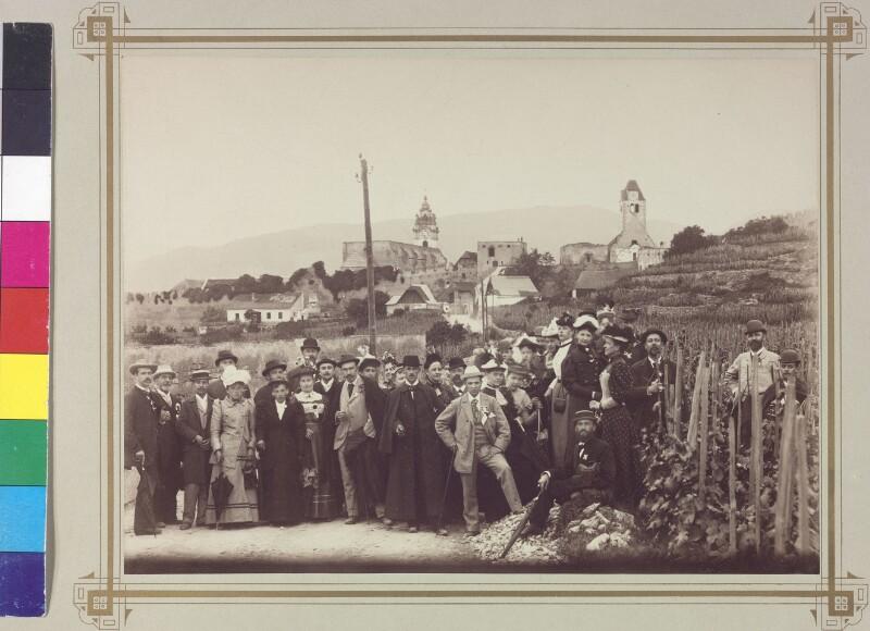 Personengruppe in Dürnstein