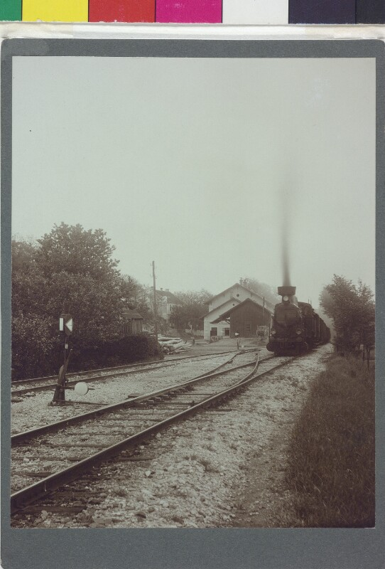 Bahnhof in Plank am Kamp