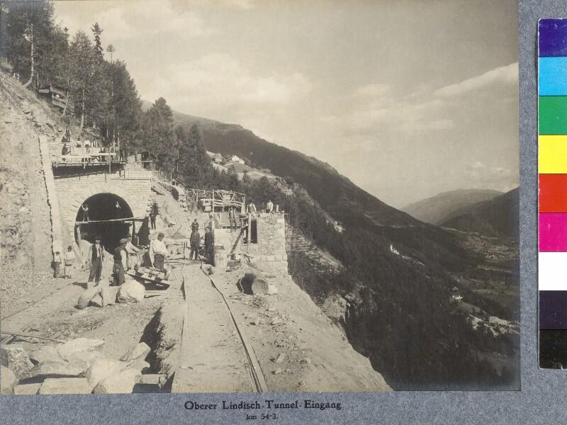 Lindischtunneleingang