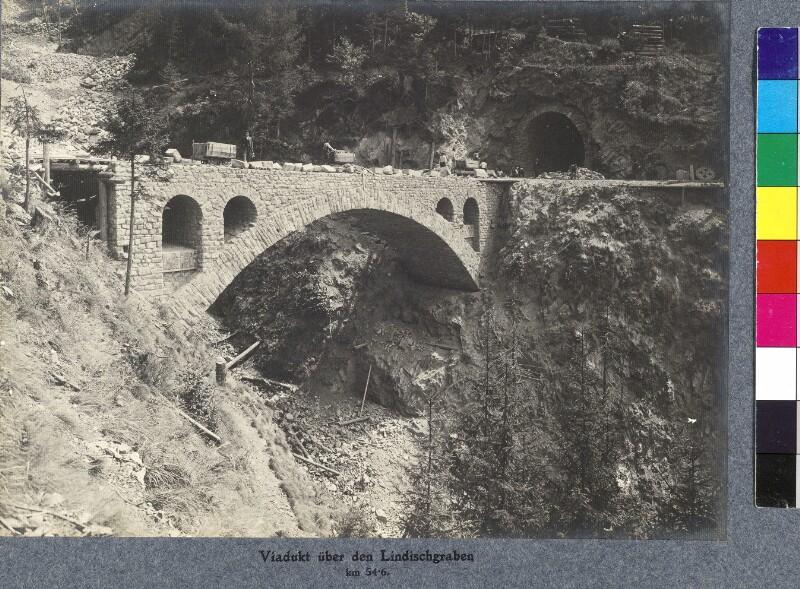 Viadukt über den Lindischgraben