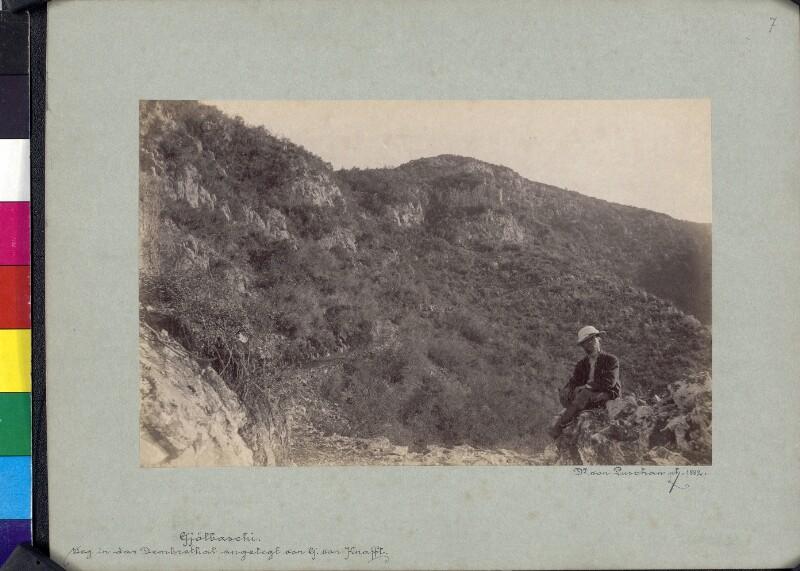 George Niemann im Demre-Tal