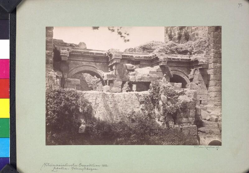 Antiker Torbau in Antalya