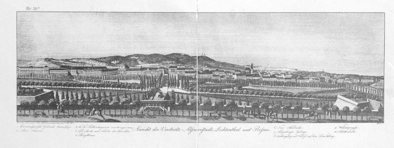 Wien, Ausblick von der Schottenbastei