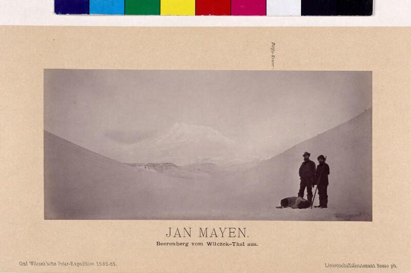 Beerenberg auf der Insel Jan Mayen